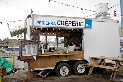 Santa Monica Ca Food Truck Urbanism Taking Root At 1401 Santa