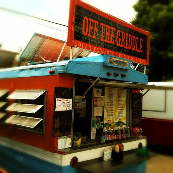 In Portland, A Solar Powered Food Truck