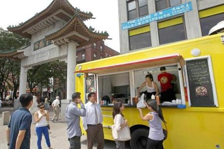 Chicken Rice Guys Truck Chinatown Mobile Food News