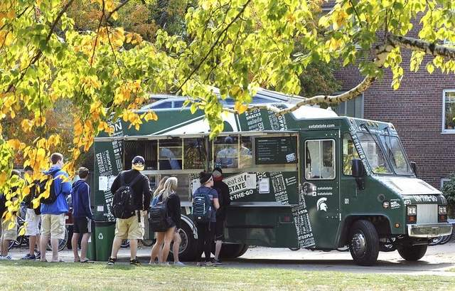 East Lansing, MI: Food Truck at MSU Open for Business