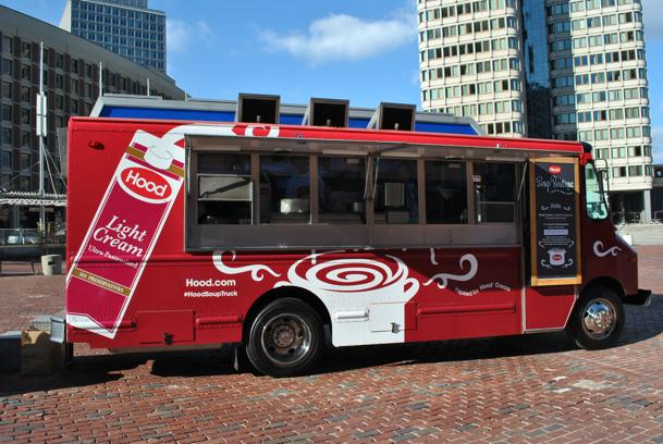 Cambridge, MA: HP Hood's 'Soup Boutique' Food Truck will be Dishing Free Samples in Harvard Square