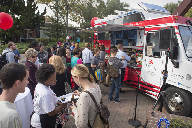 La Mirada, CA: Food-Truck Craze Comes to Biola University