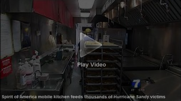 Queens, NYC: Red Cross Mobile Kitchen Based in Roanoke Prepares Thousands of Meals in New York