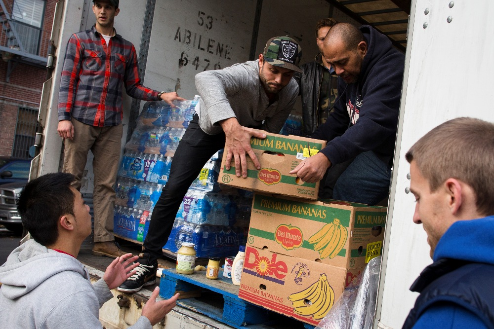 Staten Island, NYC: RI Man Uses Food Truck For Sandy Relief