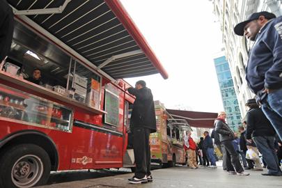 NYC, NY: New York's Food Trucks to the Rescue