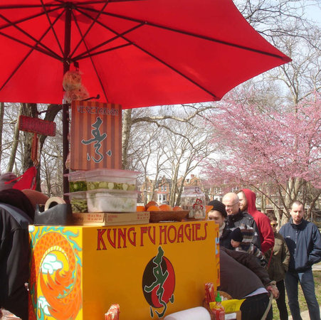 Kung Fu Hoagies, an all-veg food truck with a Veitnamese fast-food theme, opened in…