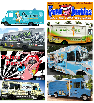 Finalist for Ultimate Miami Food Truck Face Off