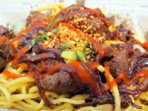 Lou BustamanteShaking Beef Garlic Noodles