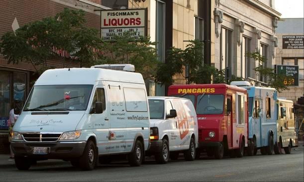 food truck craze in Chicago