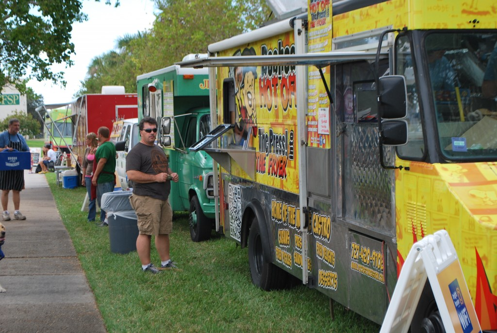 St. Petersburg, FL: Food truck rally to celebrate start of spring semester
