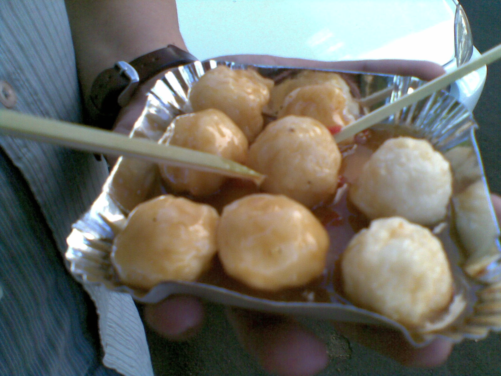 Manila, Philippines: Fishball (Philippines StreetFood)