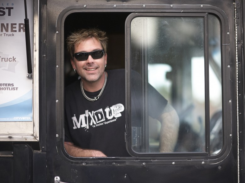 IMAGE CREDIT: HLN Brett Eanes, owner of MIX'd UP food truck -- one of the most popular trucks in Atlanta.