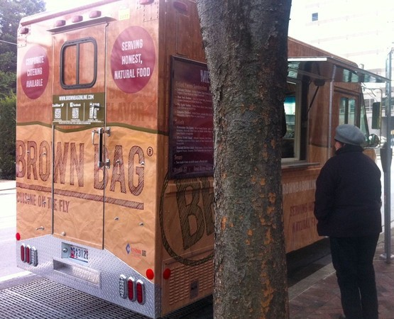 Bethesda, MD: Brown Bag's New Food Truck Debuts in Bethesda