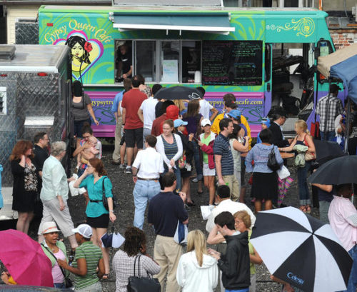 The food trucks are coming to Woodberry (Baltimore sun photo/Gene Sweeney, Jr. / January 31, 2013)