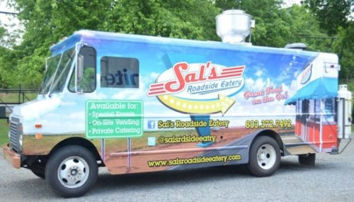Sal's Roadside Eatery is one of nine food trucks that will compete March 23. The others are The Chrome Toaster, the Tin Kitchen, Gourmet Goombahs, The Herban Legend, Papi Queso, Wingzza, Root Down and Roaming Fork. Each truck will serve two dishes to be judged by participants and a panel of judges. The contest will take place from noon to 4 p.m. March 23 at the NC Music Factory. COURTESY OF JOHN DENARIO