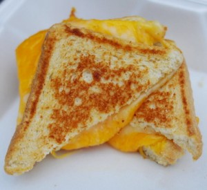 Melt's classic grilled cheese comes with cheddar and American cheeses on Texas toast. (Tamika Moore/AL.com)