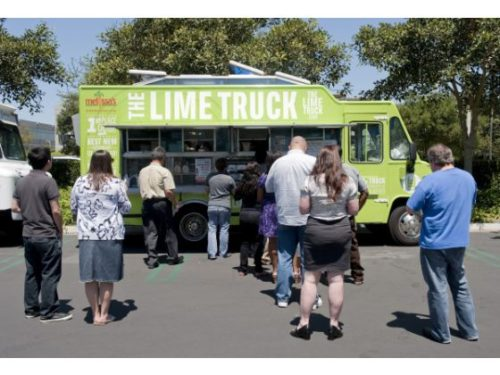The Lime Truck is among those that can be found at OC Din Din A Go Go. NICK KOON, ORANGE COUNTY REGISTER