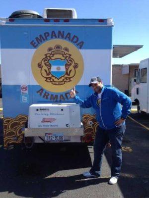 Fernando Ortega and his Empanada Armada are ready to set sail. (Courtesy of Empanada Armada)