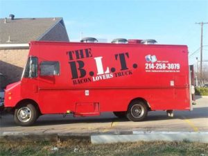 B.L.T.N stands for Bacon Lover's Truck. (Courtesy of B.L.T.)