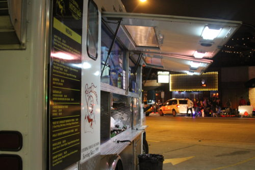 Enjoy Pecos Tacos after a night out on West 6th St.