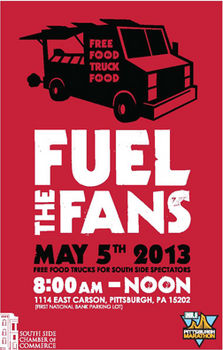 Pittsburgh, PA: Fuel The Fans Free Food Truck Festival on South Side for Marathon