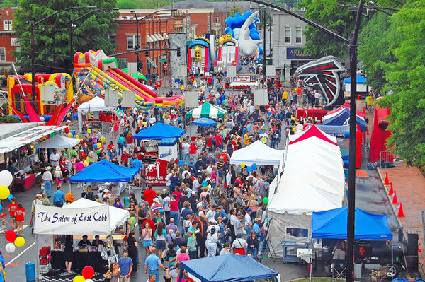 Marietta, GA: Chow Down at the 20th Annual Taste of Marietta
