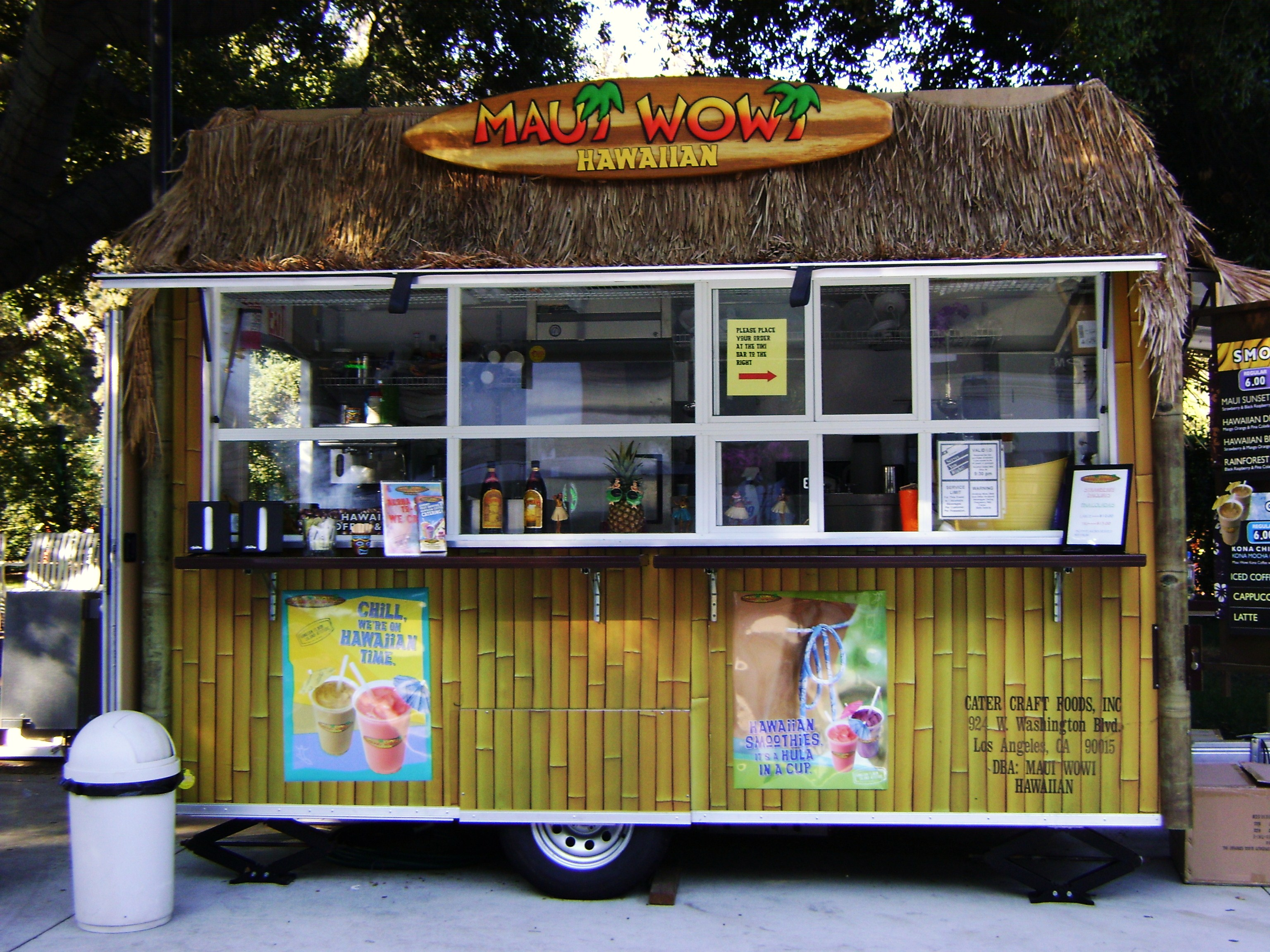 Ft. Worth, TX: Maui Wowi Hits The Road With A New Food Truck In Dallas-Fort Worth