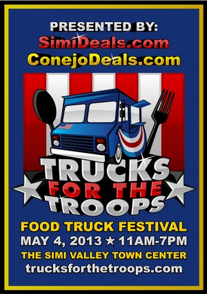 Simi Valley, CA: Food Truck Festival to Support Troops Fighting Overseas