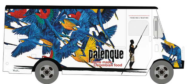 New York, NY: Palenque Food Truck