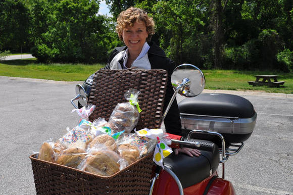 Columbia, MD: Columbia's CookieRide Scooter Delivers Sweet Treats