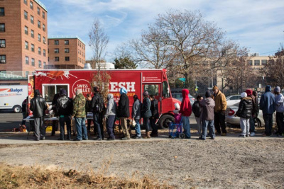 Rockways, NY: From Beast to feast – Mike D's Sandy relief food truck