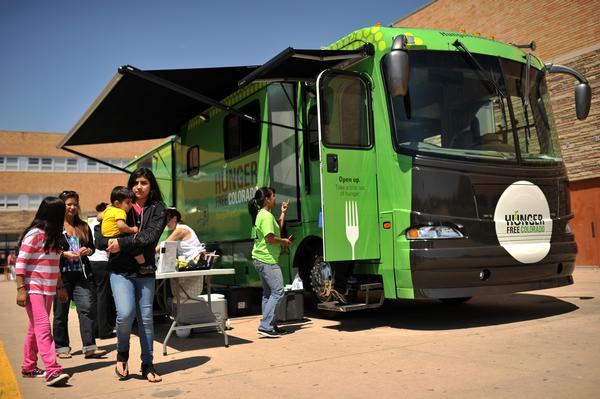 Denver, CO: New Type of Food Truck Cruising Denver, Offering Help to the Hungry