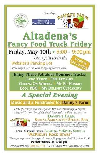 Altadena, CA: McKinley's Musical Rock Stars Added to Fancy Food Truck Friday