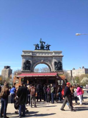 isitors flock to Brooklyn's Prospect Park for the Food Truck Rally. Photo by Katrina Woznicki / Lonely Planet.