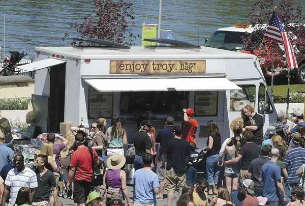 Troy, NY: Foodies Flock to Troy's First-Ever Food Truck Festival