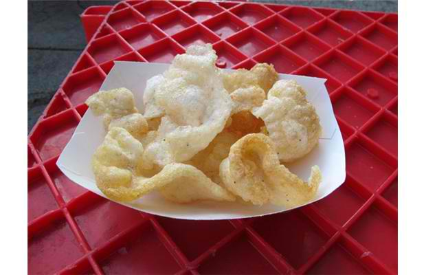 Shrimp chips: A mixture of shrimp and tapioca flour is rolled out, sliced, dried and then deep fried. A staple Asian snack! Photograph by: Courtesy, Calgary Stampede