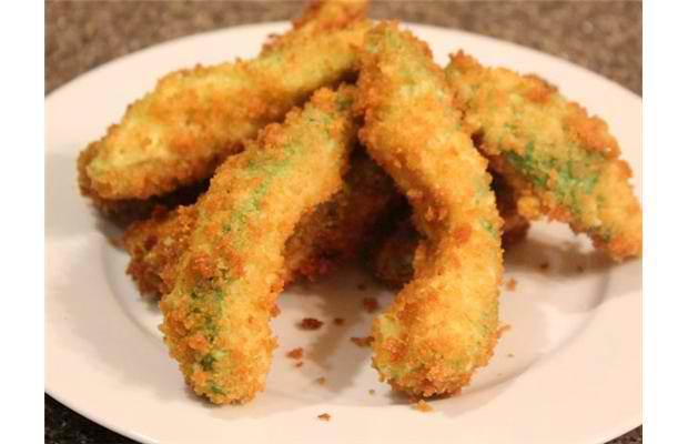 Deep-fried avocado: Pieces of avocado are coated in light tempura batter and deep fried. Photograph by: Courtesy, Calgary Stampede