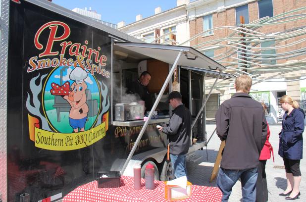 Regina, CAN: Food Trucks Prepare for Return to Regina's City Square Plaza