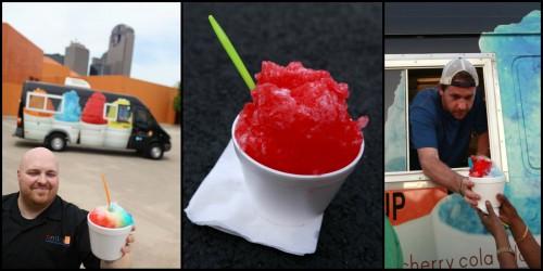 Ice treats from the gourmet shaved ice company Enticed. (Jason Janik, Mei-Chun Jau)