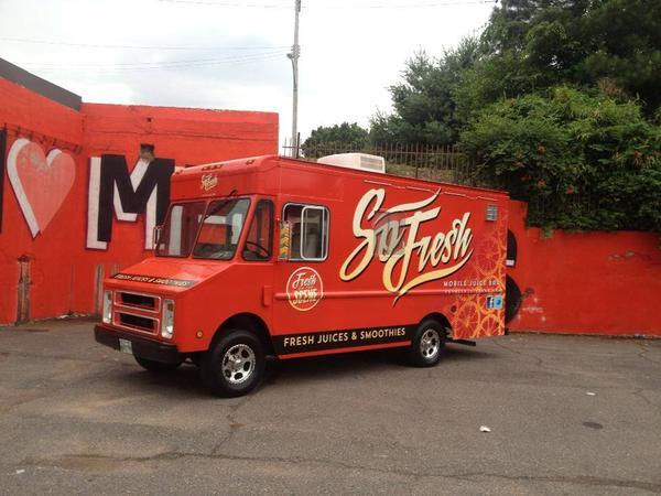 Memphis, TN: Mobile Juice Bar Hits Memphis Streets