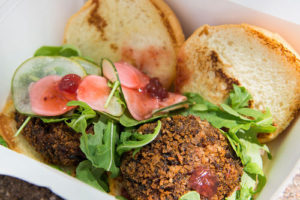 E. Katie Holm Wild Rice Sliders from Moral Omnivore