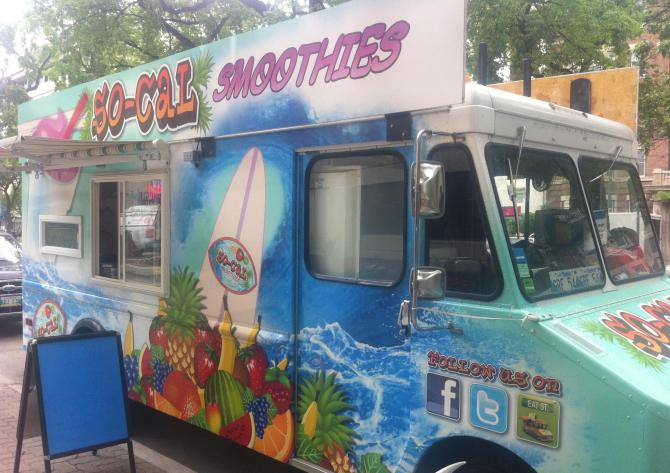 So-Cal Smoothies tries to put Winnipeggers in a surf state of mind.