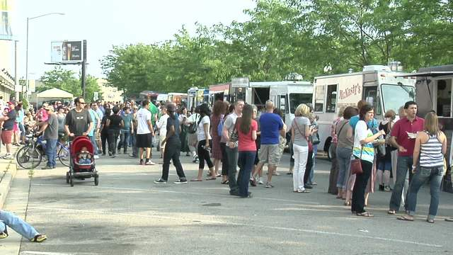 Dayton, OH: Food Truck Rally Works Up An Appetite