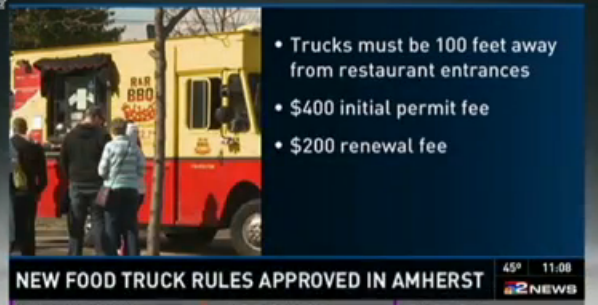 Amherst, NY: New Rules for Food Trucks in Amherst