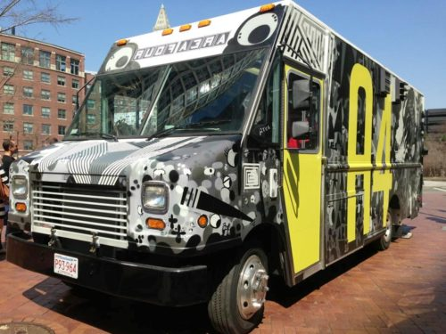 The Area Four food truck will be serving varieties of a traditional Italian street food sandwich, the piadina. Read more: http://www.wickedlocal.com/cambridge/news/x606647444/New-offerings-in-Cambridges-riverside-food-truck-season#ixzz2aU4ApdKy  Follow us: @cambridgechron on Twitter | CambridgeChronicle on Facebook