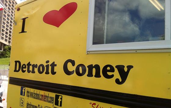 Kansas, MO: The Detroit Coney Food Truck Has Legit French Fries