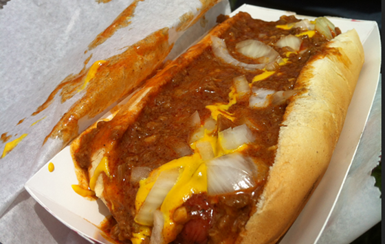 The Coney from the Detroit Coney Food Truck.