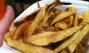 These fries are heavyweight contenders.