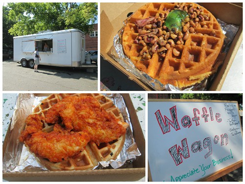JESS ROBERTS Good eats from the Waffle Wagon