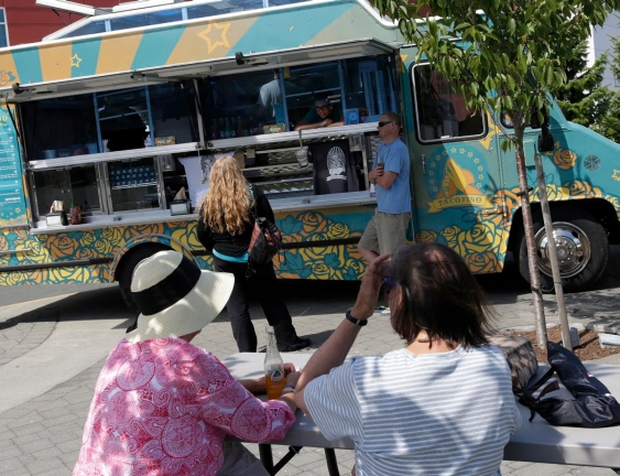 The Centennial Square festival will include a taste of Tofino with the Tacofino food truck. Photograph by: LYLE STAFFORD, Times Colonist